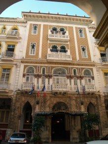 FACHADA DEL HOTEL SEVILL