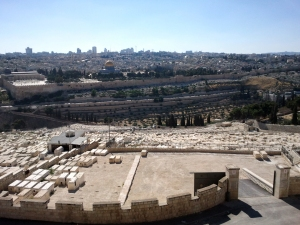 JERUSALEM DESDE EL MONTE DE LOS OLIVOS