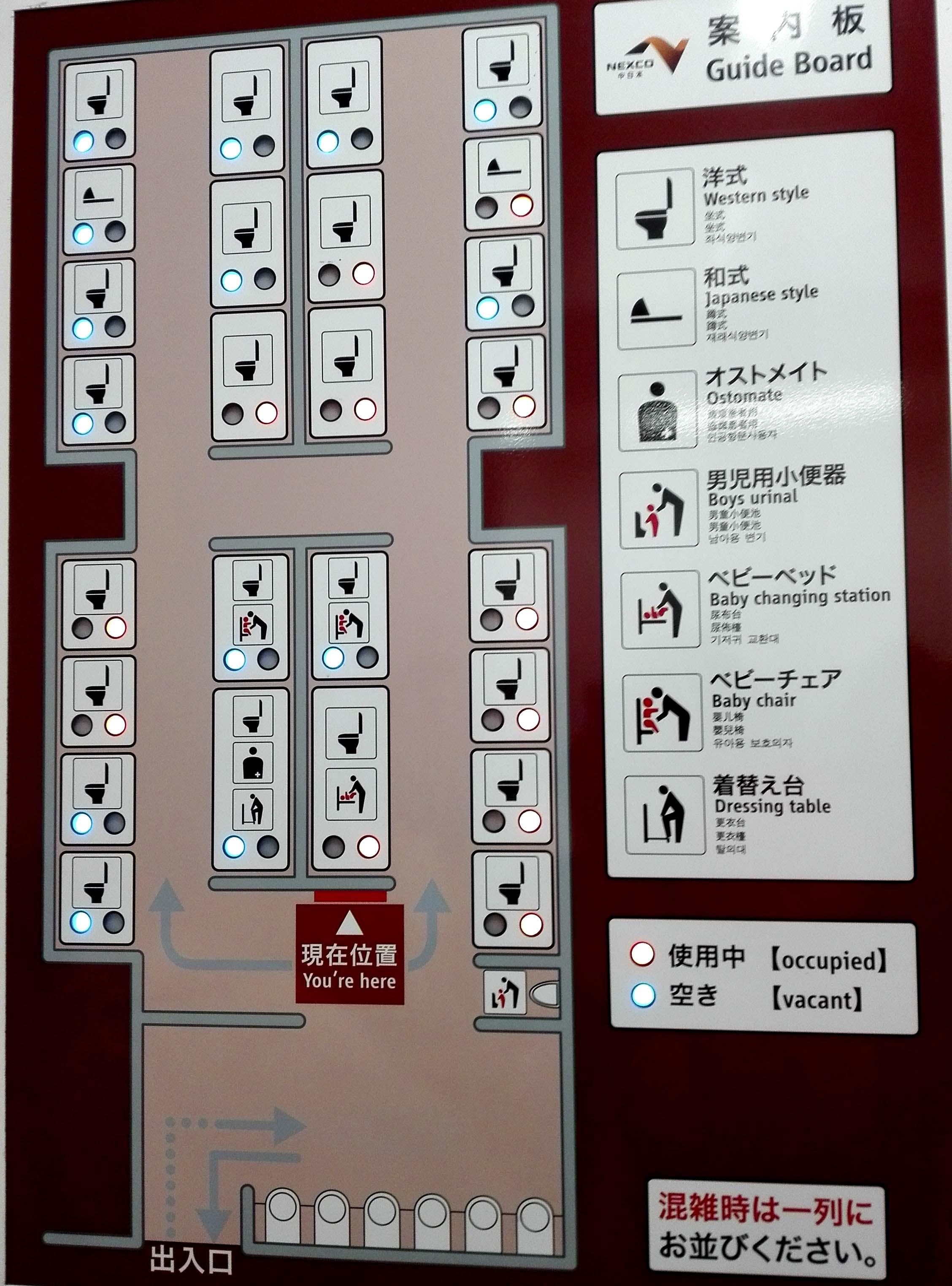 PANEL DESCRIPTIVO Y FUNCIONAL, JAPON